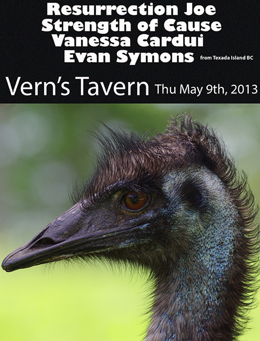 Evan Symons May 9, 2013