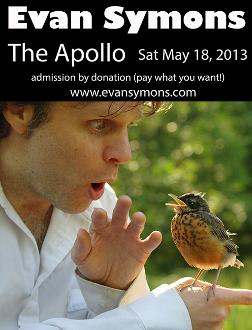 Evan Symons May 18, 2013 Apollo Thunder Bay